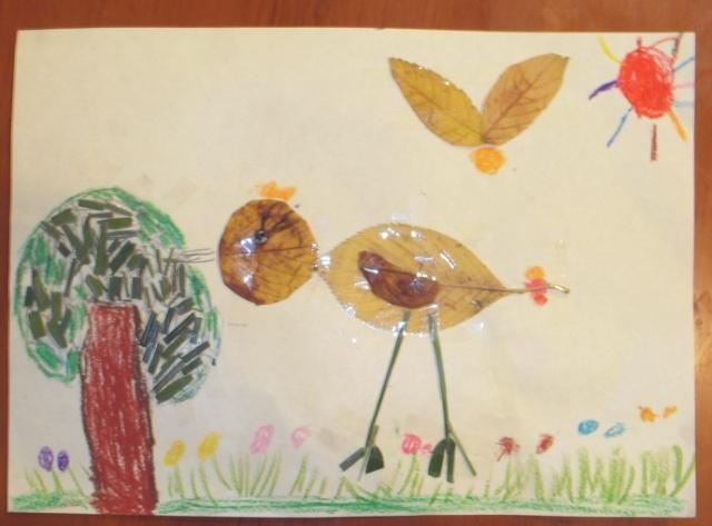 树叶小鸡幼儿园
