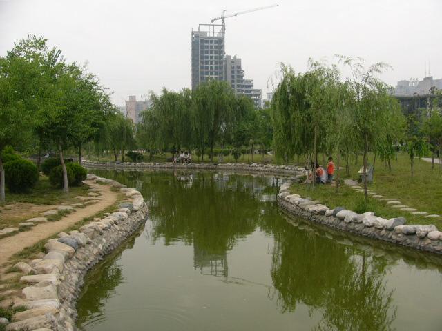 西安文景公园之自然风景