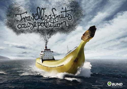 海洋污染手绘海报