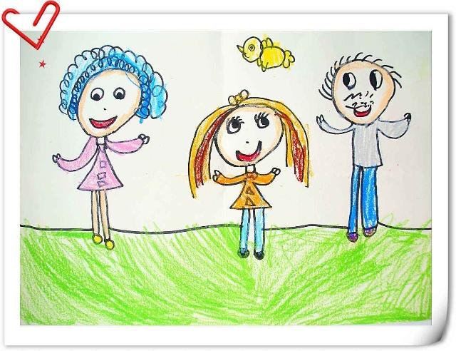 幼儿园值日生娃娃卡通图片