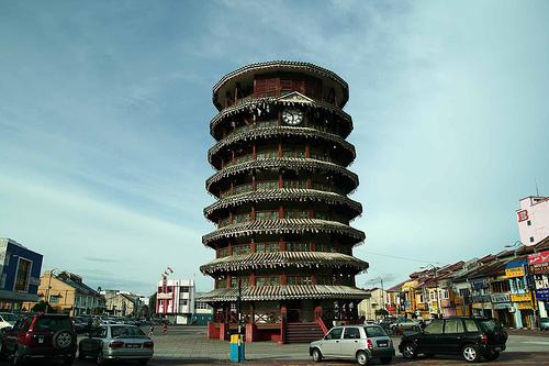 马来西亚建筑之三:安顺斜塔_海岸线_新浪博客