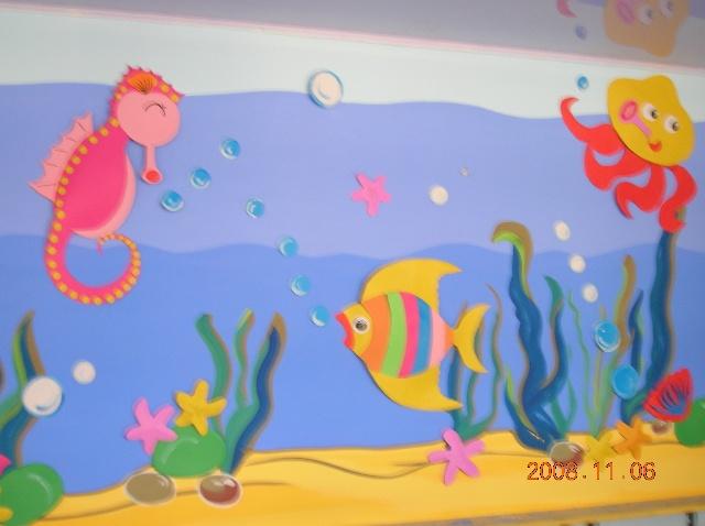 幼儿园大班教室主题墙_幼儿园大班教室主题墙画法