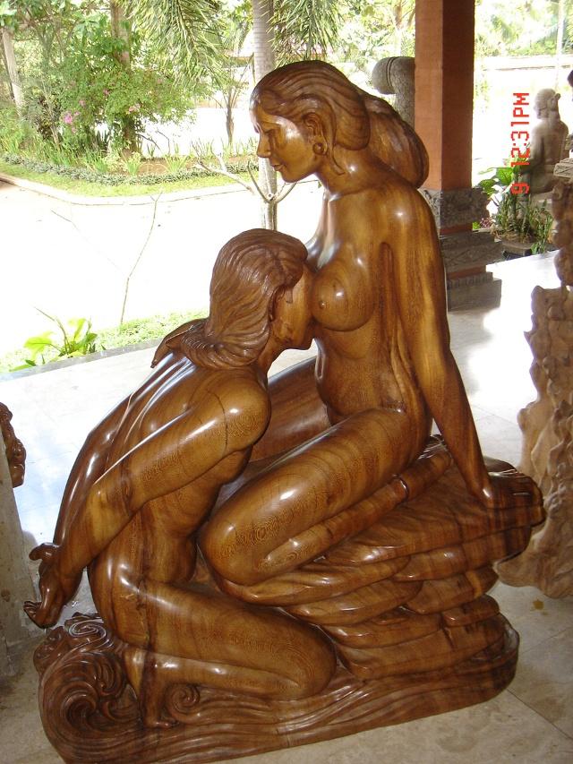 老照片(二)——巴厘岛木雕
