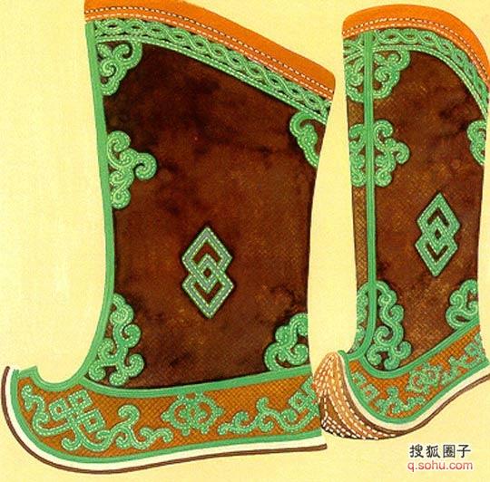 蒙古靴子简笔画图片【相关词_ 蒙古靴子简笔画】