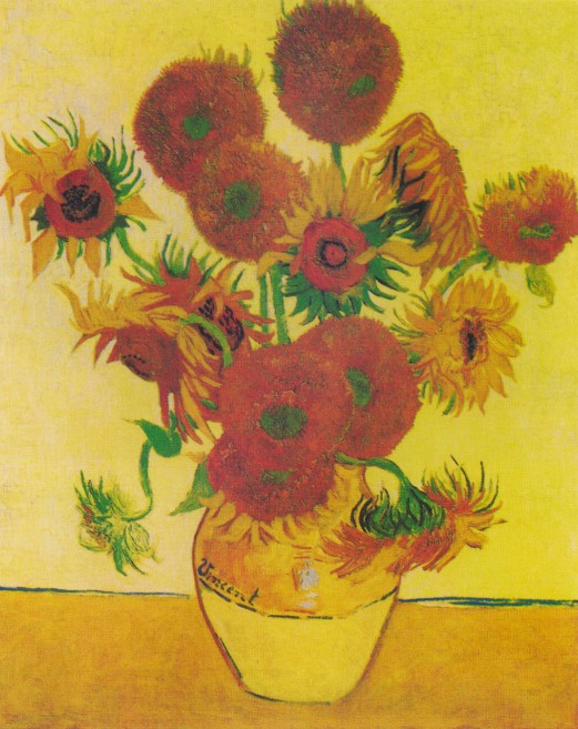 梵高仅存于世的十一部向日葵作品,值得一看