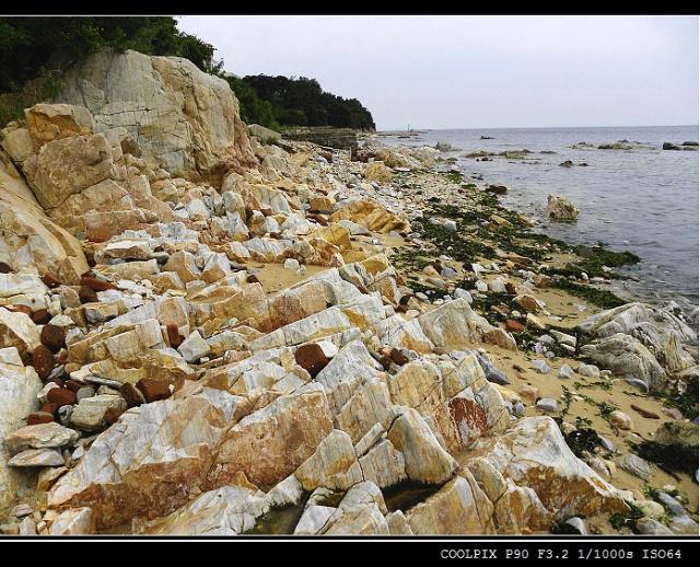 烟台养马岛(一):美丽的海滩(2)