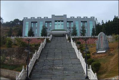东海 安峰山烈士陵园