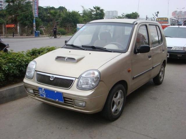 福莱尔是原先秦川汽车的唯一产品高清图片