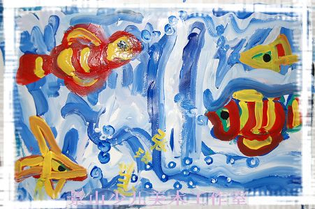 海面--水粉渐变练习- 景山少儿美术工作室-搜狐博客