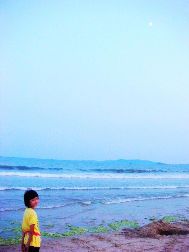 海边的黄昏-坐在阳台看风景-搜狐博客