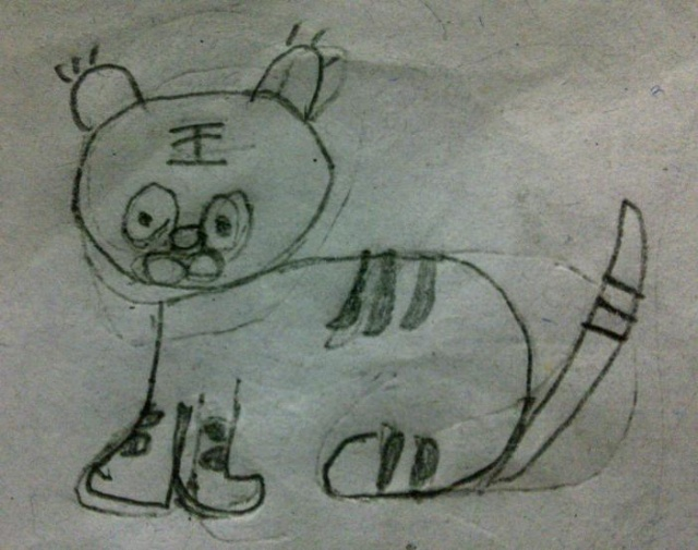 小学教师简笔画作品