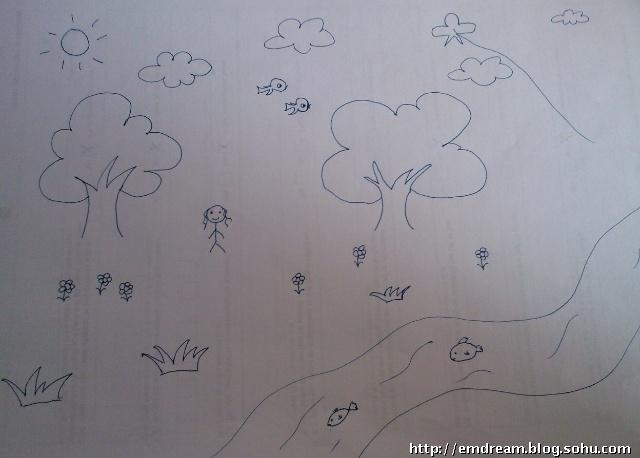 清新明丽的江南春天的图画