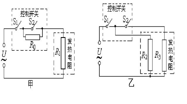 (3)将电热器接入家庭电路并使其在高温档正常工作10min,求发热电阻
