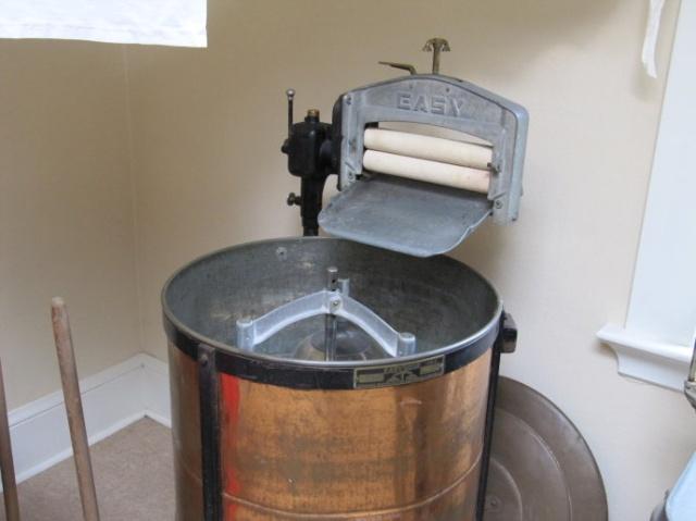 岁月留痕:罕见的老式洗衣机(组图)