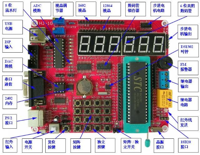 慧净电子 日志  1,hj-1g仿真开发板下载(相当于电路