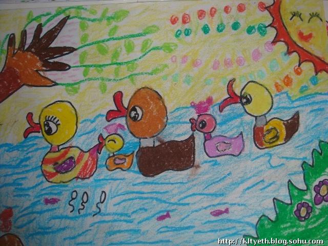幼儿近期绘画作品-快乐涂鸦儿童画-搜狐博客